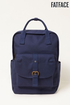 FatFace Blue Canvas Backpack