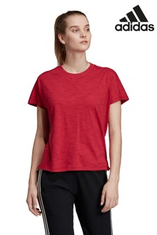 Красная футболка adidas Winners