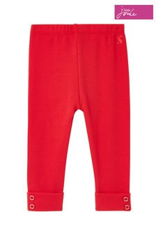 Joules Red Lula Rib Leggings