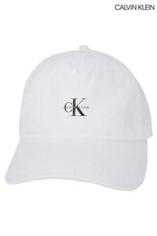 Calvin Klein White Jeans Essential 2990 Baseball Cap