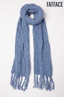FatFace Einfarbiger Schal mit Bommeln