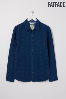 FatFace Blue Doubles Spot Shirt