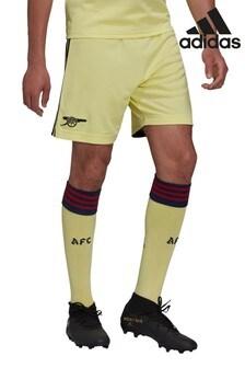 adidas Yellow Arsenal Away 21/22 Football Shorts