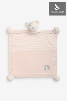 The Little Tailor Ted Toy Babydecke, pink