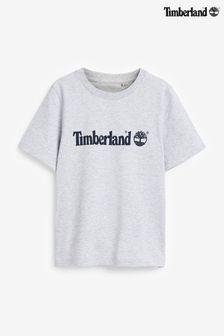 Szara koszulka Timberland® z logo