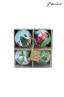 Paperchase Decoupage Baubles