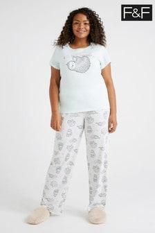 F&F Sloth Novelty Pyjamas