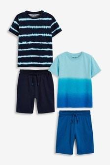 2 Pack Short Pyjamas (3-16yrs)
