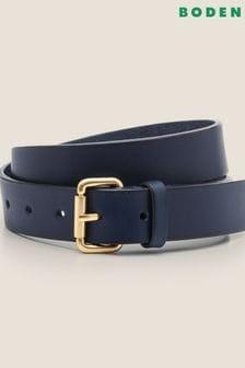 Boden Blue Classic Buckle Belt