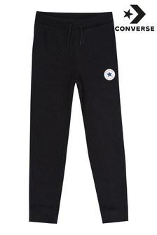 Pantalones de chándal de niño de polar con parche Chuck de Converse