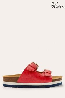 Boden Red Ottoline Sandals