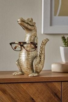 Stojan na okuliare v tvare aligátora Alex the Alligator