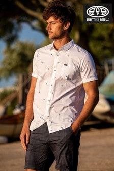 Animal White Local Short Sleeve Shirt