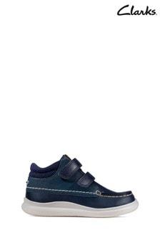 Синие ботиночки для малышей Clarks Crest Tuktu