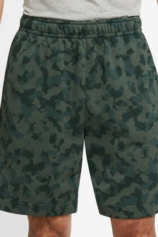 Nike Club Fleece Camo Shorts