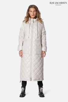 Ilse Jacobson Cream Padded Coat