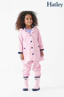 Hatley Pink Classic Splash Jacket