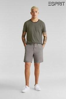 Esprit Chino-Shorts, Grau