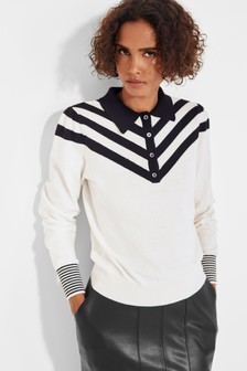 Mix/Yaitte Knitted Polo Top