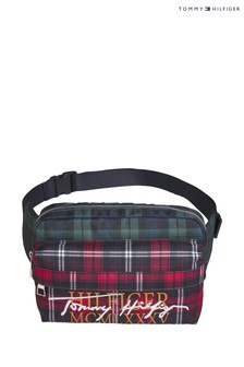 Tommy Hilfiger Red Signature Tartan Crossbody Bag