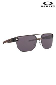 Oakley® Black Frame Visor Sunglasses