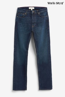 White Stuff Blue Davis Straight Jeans