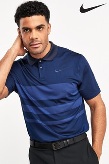 Nike Golf Vapor Gestreiftes Poloshirt