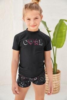 Комплект из солнцезащитного топа и шорт (3-16 лет)