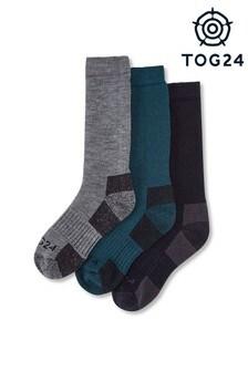 Lot de trois paires de chaussettes en mérinos Tog 24 Rigton