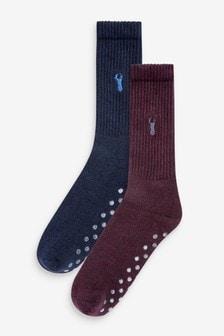 Носки-тапочки, 2 пары