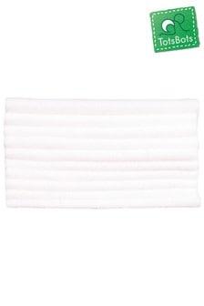TotsBots Fleece-Einlagen für waschbare Windeln, 10er-Pack