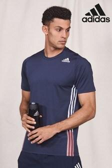adidas Ink 3 Stripe T-Shirt