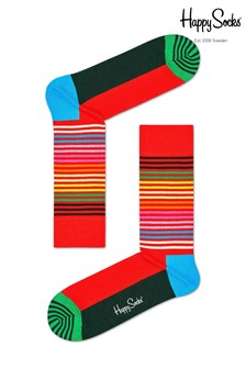 Happy Socks Mens Classic Holiday 4 Pack Gift Box