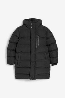 Longline Padded Jacket (3-17yrs)