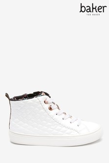Baker by Ted Baker Embossed High Top Trainers