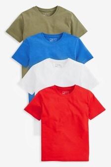 Набор повседневных футболок (4 шт.) (3-16 лет)
