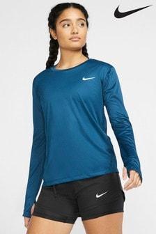 Haut de course à manches longues Nike Miler