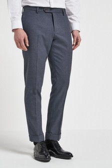 Herringbone Suit: Trousers