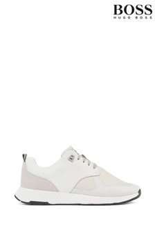 BOSS White Titanium Trainers