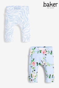 Lot de 2 leggings Baker by Ted Baker bleu