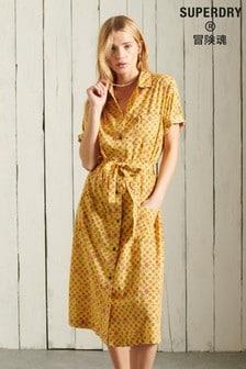 Superdry Printed Shirt Dress