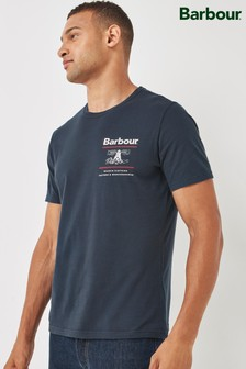 Barbour® Navy Reed T-Shirt