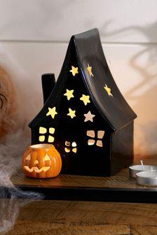 Halloween Haunted House Tea Light Holder