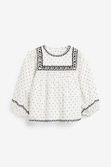 Блузка в стиле оверсайз (3-16 лет)
