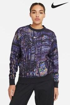 Nike Trend Durchgängig bedrucktes Sweat-Top aus Fleece