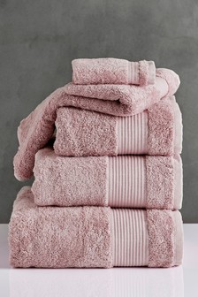 Ash Rose Pink Egyptian Cotton Towels