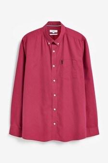 Roll Sleeve Lightweight Twill Shirt