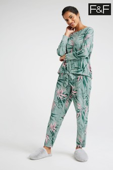 F&F Leaf Pyjama Set