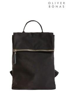 Черный рюкзак Oliver Bonas Miliani