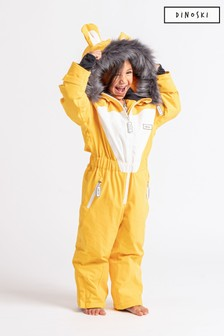 Dinoski Yellow Cub Lion Ski Suit